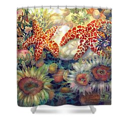 Tidal Pool II Shower Curtain