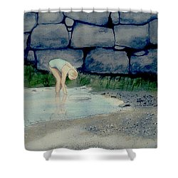 Tidal Pool Treasures Shower Curtain