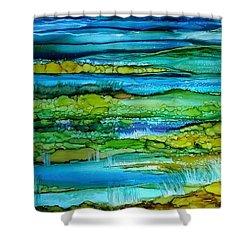 Tidal Pools Shower Curtain
