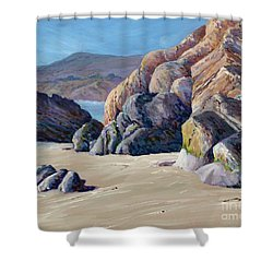 Tidal Shift Shower Curtain