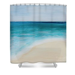 tide Coming In Shower Curtain