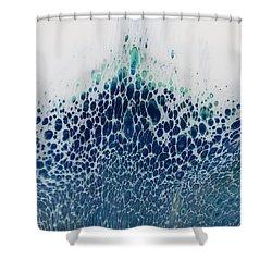 Tideless Sea Shower Curtain