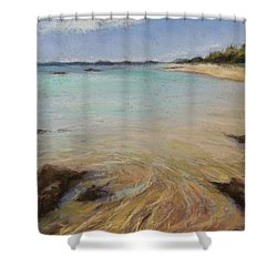 Tide's Retreat Shower Curtain