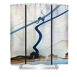 Tied The Knot Shower Curtain