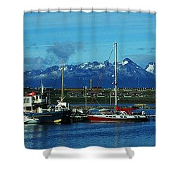 Tierra Del Fuego Shower Curtain