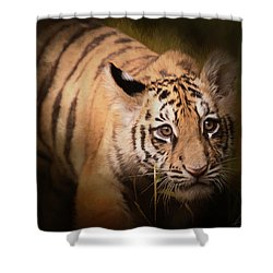 Tiger Cub Shower Curtain