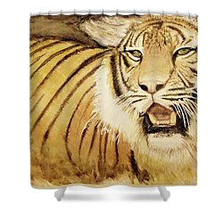 Tiger King Shower Curtain