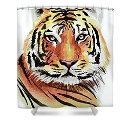 Tiger Love Shower Curtain