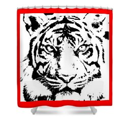 Tiger Shower Curtain by Now