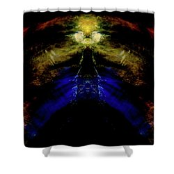 Tiger Tower Shower Curtain