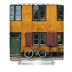 Tigergade Apartment Scene Shower Curtain