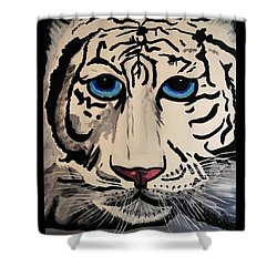 Tigger Shower Curtain by Nora Shepley
