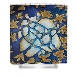 Tikkun Olam Heal The World Shower Curtain by Laurie Morgan