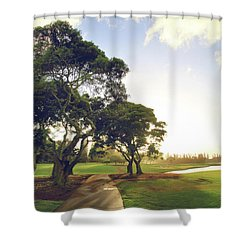 Shower Curtain featuring the photograph 'til I'm In Your Arms Again by Laurie Search