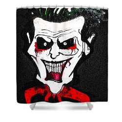 Shower Curtain featuring the painting Tillies Vamp by Patricia Arroyo