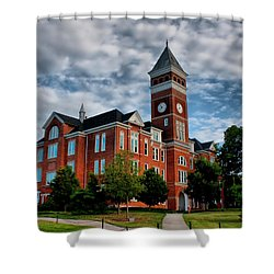 Shower Curtain featuring the photograph Tillman Hall by Lynne Jenkins