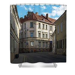 Tilto Street Shower Curtain