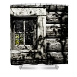 Shower Curtain featuring the photograph Timber Hand-crafted by Brad Allen Fine Art