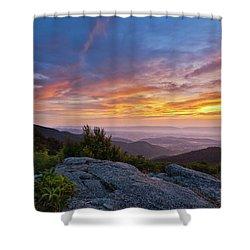 Timber Hollow Overlook Sunset 2 Shower Curtain