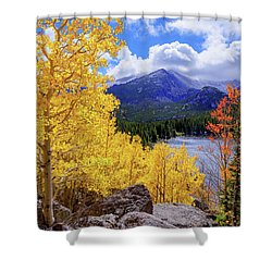 Shower Curtain featuring the photograph Time by Chad Dutson