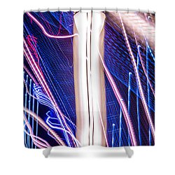 Time Dilation  Shower Curtain