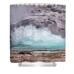 Time For Grand Shower Curtain