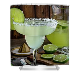 Shower Curtain featuring the photograph Time For Margaritas by Teri Virbickis
