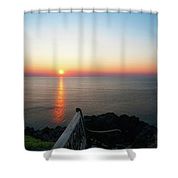Time For Reflection... Shower Curtain by Nina Stavlund