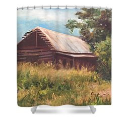 Time Gone By Shower Curtain