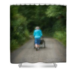 Time Of Growth Shower Curtain
