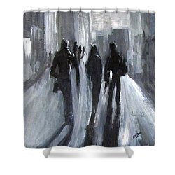 Time Of Long Shadows Shower Curtain