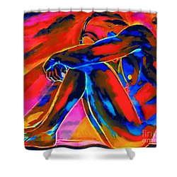 Time Of Reflection Shower Curtain