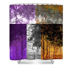 Time Of The Season Shower Curtain