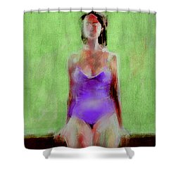 Time Out Shower Curtain by Jim Vance