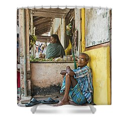 Kumarakom Shower Curtain by Marion Galt