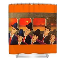 Time Passes By Shower Curtain by Thomas Blood