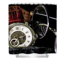 Time Passes Memories Stay Shower Curtain by Ramabhadran Thirupattur