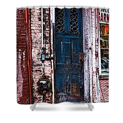 Time Tested Shower Curtain by Christopher Holmes