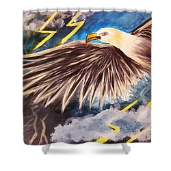 Time To Take Flight  Shower Curtain