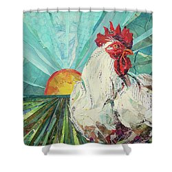 Time To Wake Up Shower Curtain