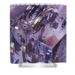 Time Trapped Shower Curtain