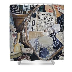 Time Travel   Original Shower Curtain