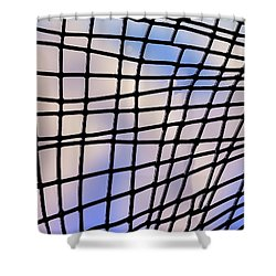 Shower Curtain featuring the photograph Time Warp by Paul Wear