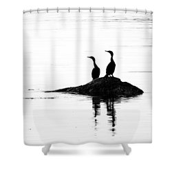 Time With You Shower Curtain