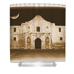 Timeless Alamo Shower Curtain by Carol Groenen