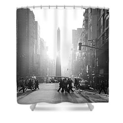 Timeless Buenos Aires Shower Curtain by Bernardo Galmarini