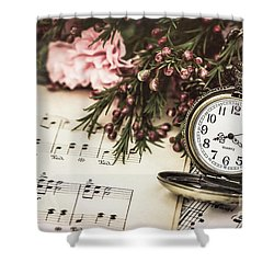 Timeless Classics Shower Curtain by Kim Andelkovic
