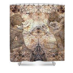 Timeless Shower Curtain by Kurt Van Wagner