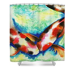 Timeless Love Shower Curtain