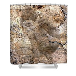 Timeless Male Shower Curtain by Kurt Van Wagner